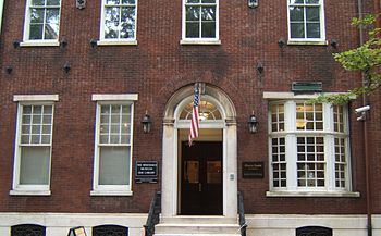 Rosenbach Museum and Library 2008-2010 Delance...