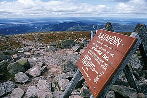 English: Top of Mount Katahdin