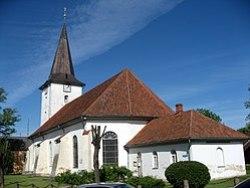 Lutheran church in Tukums