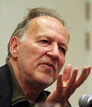 English: Director Werner Herzog at a press con...