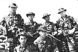 Group of Soldiers from ARVN with SFC Norman A....