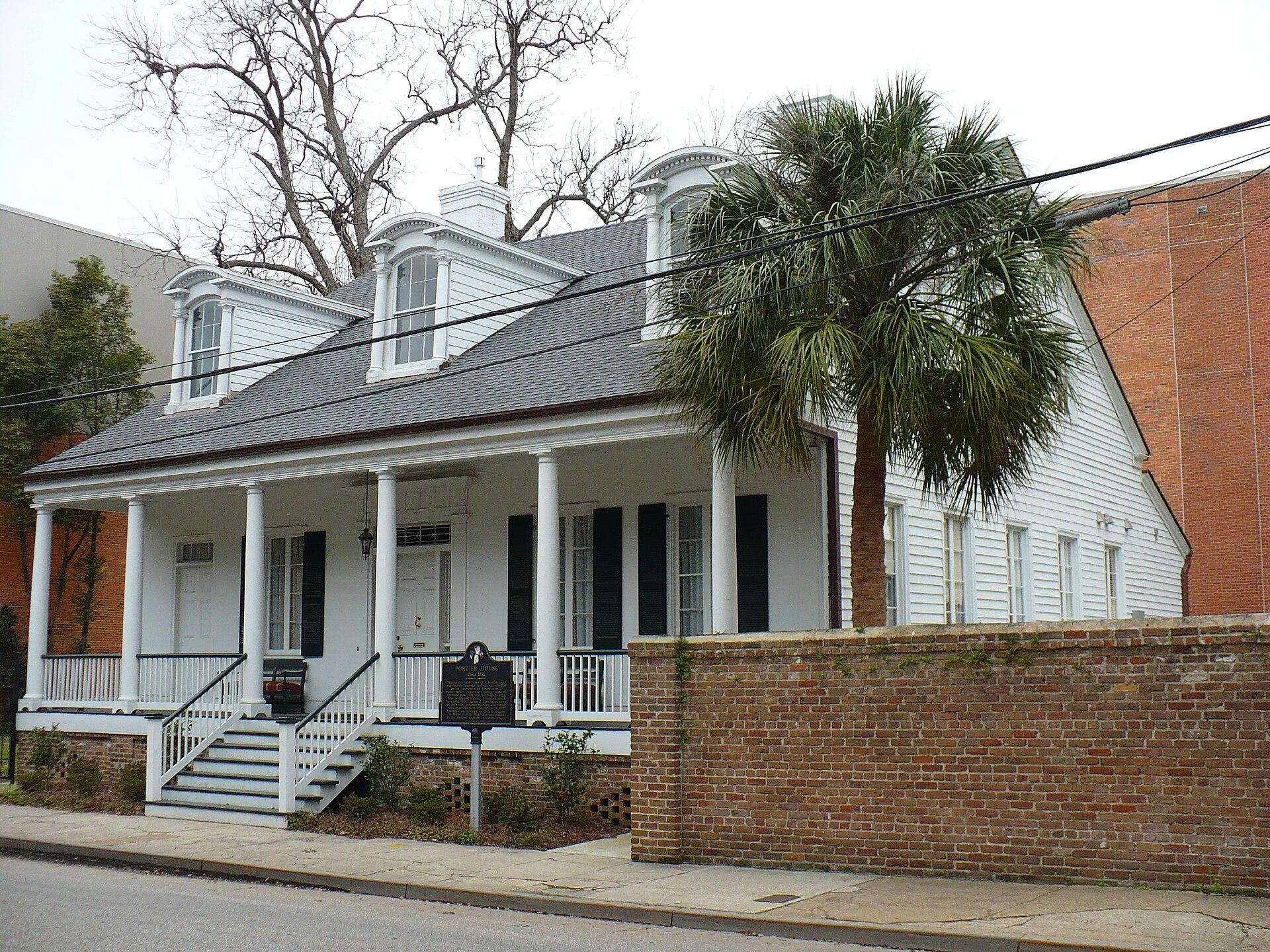 Bishop Portier House Wikipedia