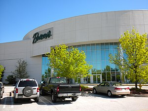 English: Boscov's Department Store in the Exto...
