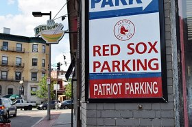 Boston Red Sox parking