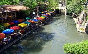 English: Casa Rio restaurant along the shores ...