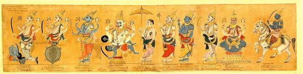 Dasavatar, 19th century