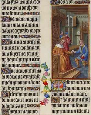 David Entrusts a Letter to Uriah - Miserere, p...