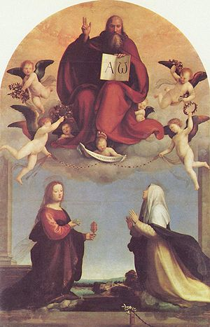 Fra Bartolomeo, Annunciation, 1509