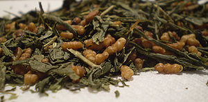 "A pic of Genmaicha, Japanese ""popcorn&quo..."