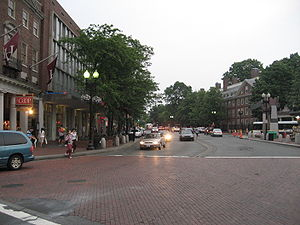 Harvard Square, Cambridge, Massachusetts