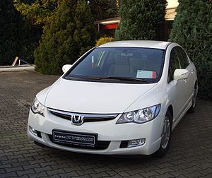 IMA-equipped Honda Civic Hybrid.