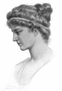 Hypatia portrait