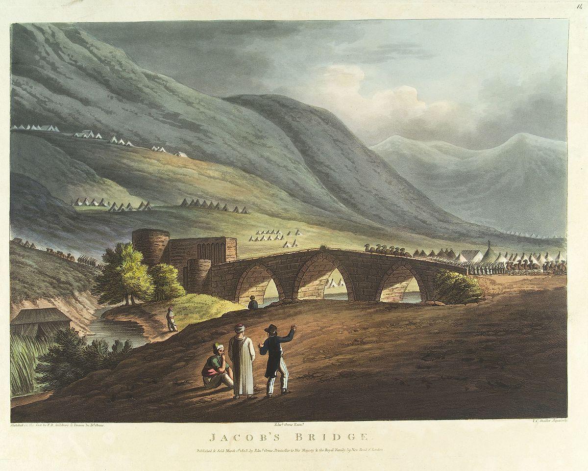 Daughters Of Jacob Bridge Wikipedia