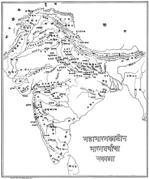 India during the period of Mahabharata.