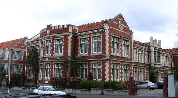 FileOtago Girls High School main block Dunedin NZjpg