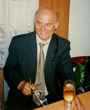 Ryszard Kapuściński (1932-2007), Polish writer...