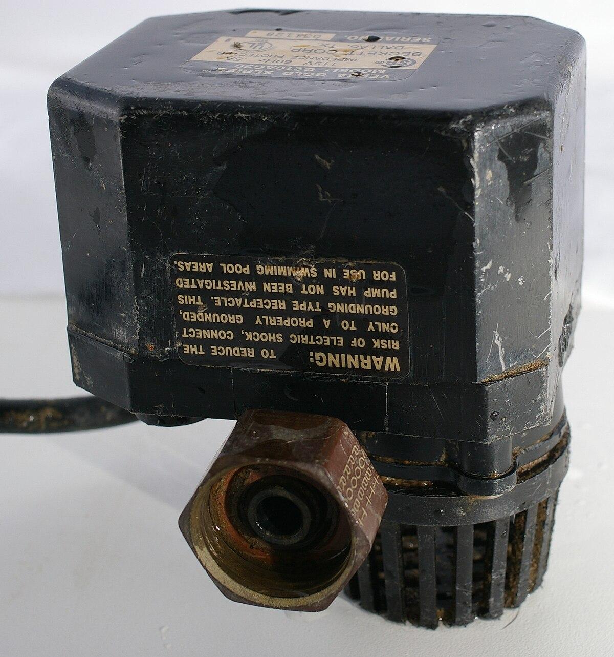 sump pump wikipedia