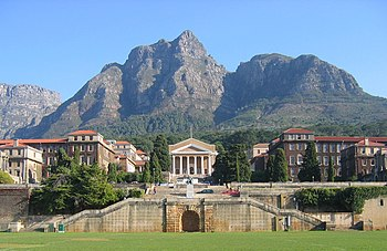 A view of the Upper Campus of the University o...