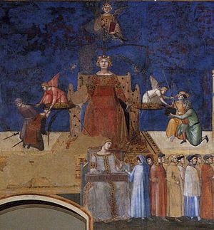 Ambrogio Lorenzetti - Allegory of the Good Gov...