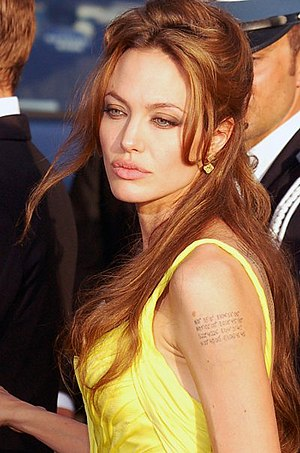 Angelina Jolie at the Cannes Film festival