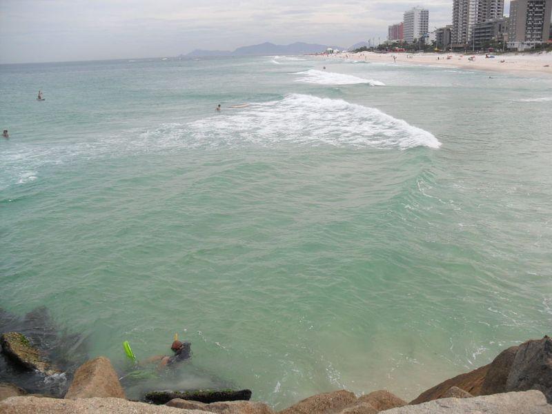 Barra da Tijuca Beach, vista do píer da Barra.JPG