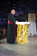 Bergoglio on 18 June 2008 giving a catechesis