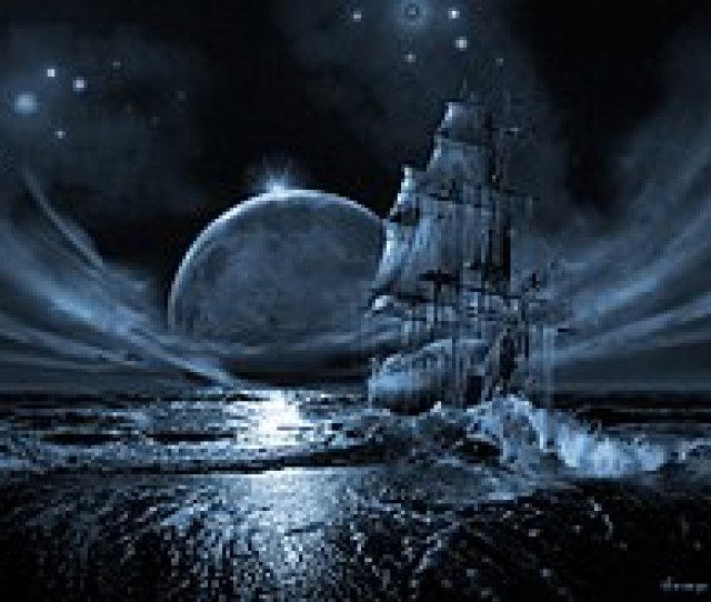 Ghost Ship Series Full Moon Rising George Grie 2007