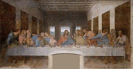 La última cena, cuadro de Leonardo da Vinci