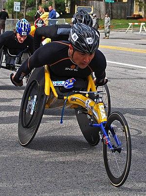 Masazumi Soejima of Japan in the 2009 Boston M...