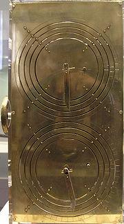 Una ricostruzione della macchina di Anticitera