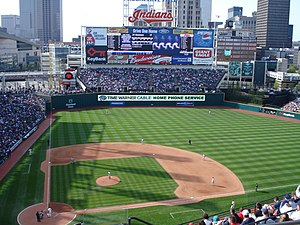 Progressive Field in Cleveland, Ohio