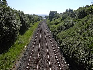 English: Rail Lines to Hebden Bridge