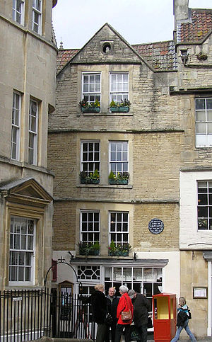 English: Sally Lunn's Reputed to be the oldest...