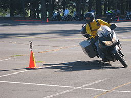 Team Oregon motorcycle training class rider - PCC Sylvania - Portland Oregon