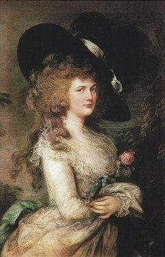 William's first wife, Georgiana, Duchess of De...