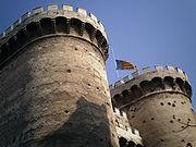 Almenas de las dos torres