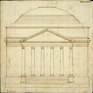 "Thomas Jefferson's design of the ""Rotunda..."