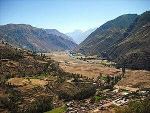 Urubamba Valley, Sacred Valley of the Incas, P...