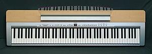 English: Electronic piano Yamaha P-140S Русски...