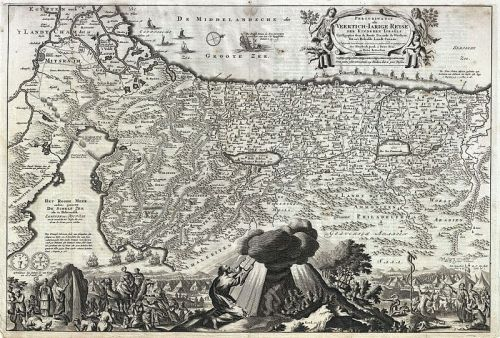 1702 Visscher Stoopendaal Map of Israel, Palestine or the Holy Land - Geographicus - PerigrinatiaeVeertich-stoopendaal-1702