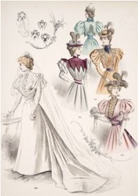 Flared Skirts, Jacket Bodices.