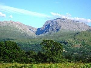 Ben Nevis, in Scotland, is the highest point i...