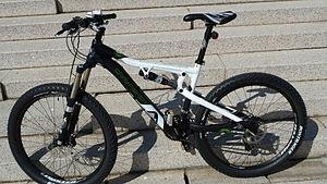 English: Bike of All Mountain. Gary Fisher. Mo...