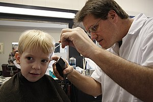 """Boy Meets Barber"" O'Fallon, Illinoi..."