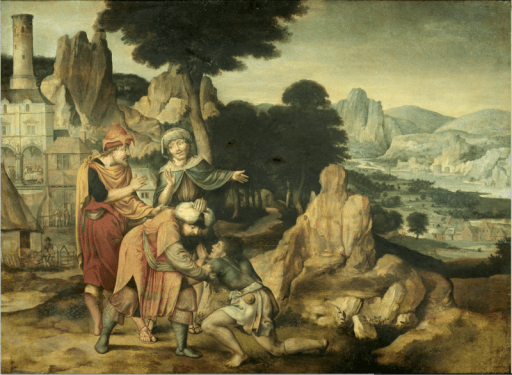 Cornelis Massijs - Return of the Prodigal Son