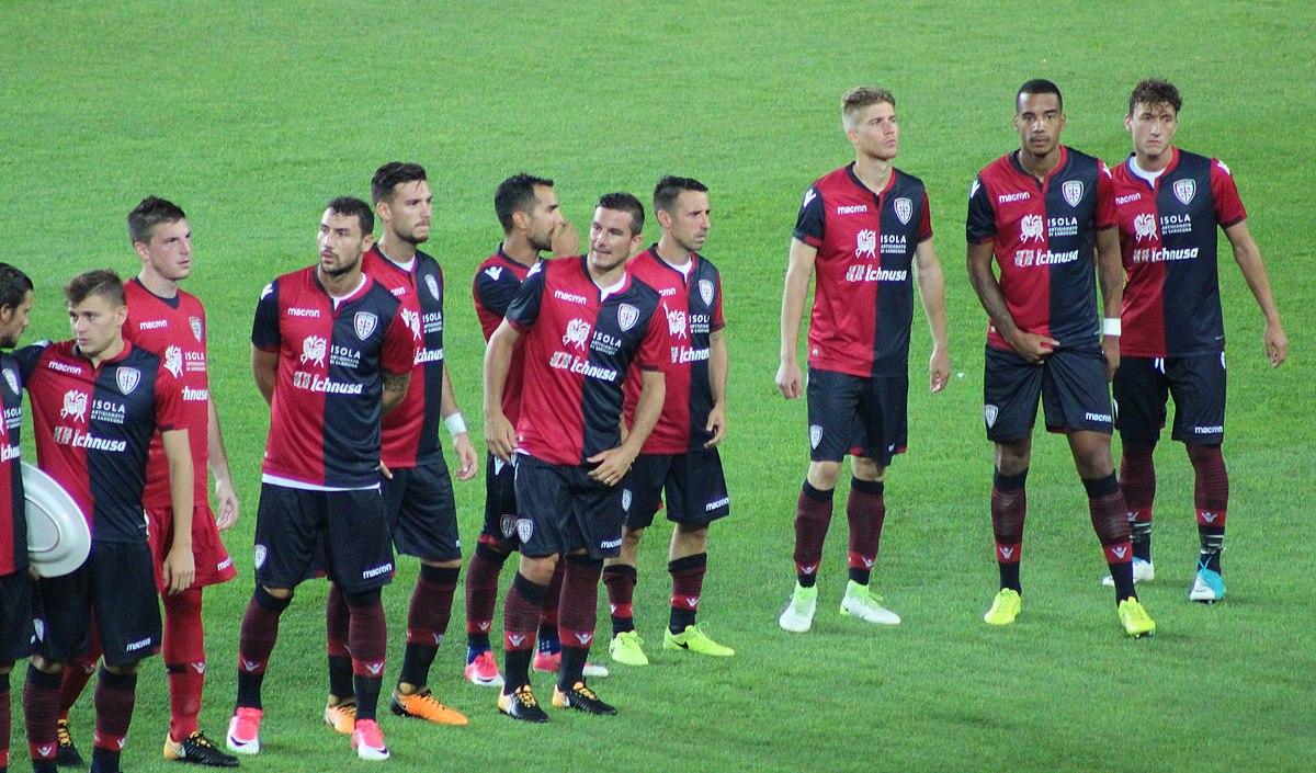 Cagliari Calcio 2017 2018 Wikipedia
