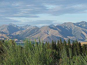 Hanmer Springs from Jollies Pass