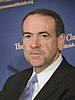 Former Arkansas Governor, Mike Huckabee, speak...