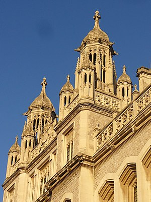 English: Ivory Towers Now owned by King's Coll...