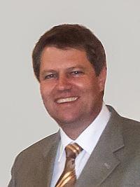Iohannis as Mayor of Sibiu, May 2005